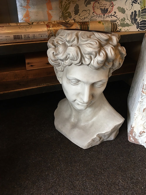 Greek head planter