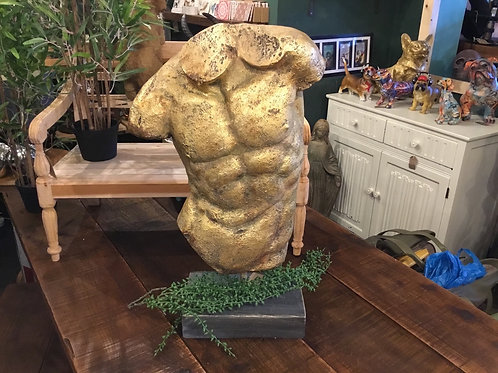 Large gold torso 26in