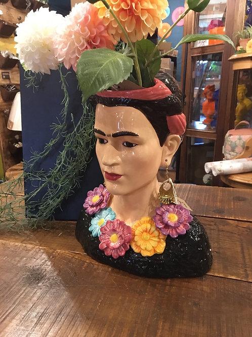 Frieda Kahlo vase LG