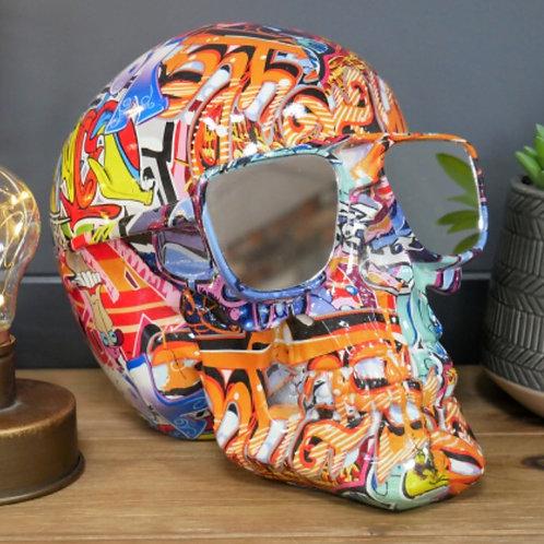 Graffitti skull