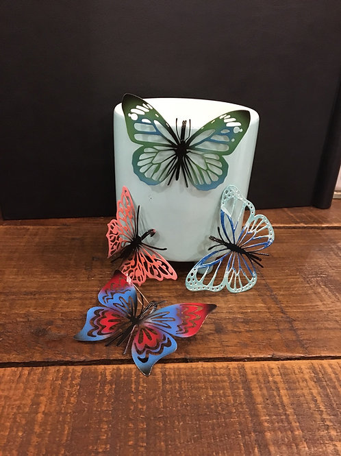 Butterfly pot hangers