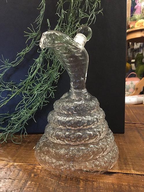 Decanter cobra glass