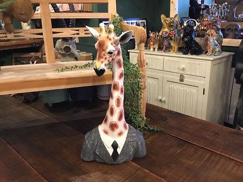 Giraffe in suit 16in (best seller)