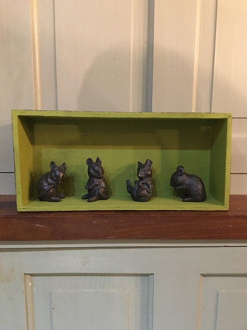 Set of four mice
