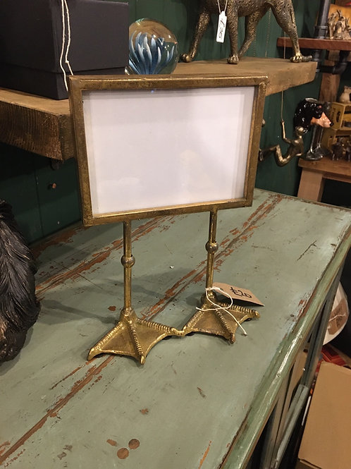 Duck foot photo frame