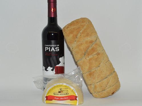 Novo Combo Pão&Queijo&Vinho