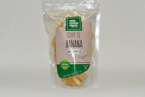 Chips de Banana com Sal