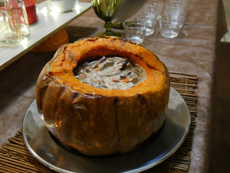 Shiitake na moranga