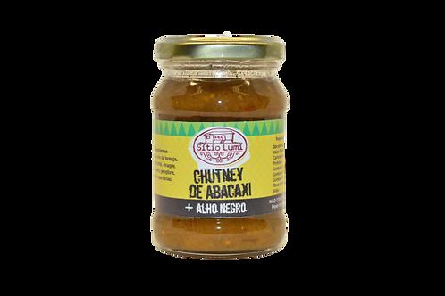 Chutney de Abacaxi com Alho Negro
