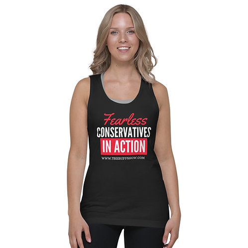 Conservative and Fearless Classic tank top