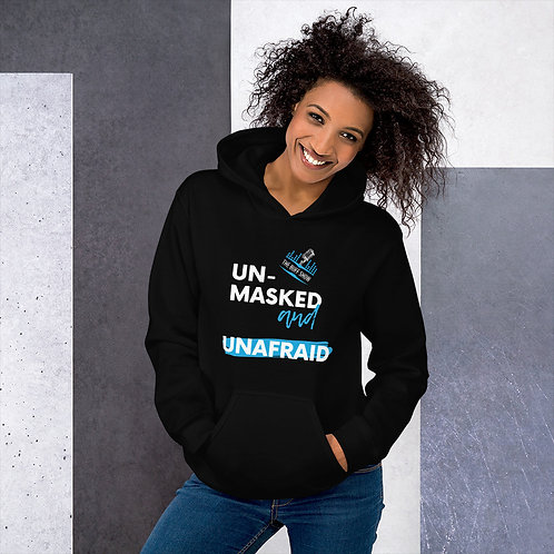Unmasked Woman's Hoodie