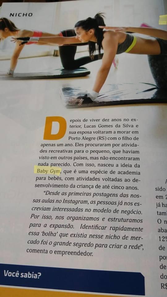 Baby Gym Franquias
