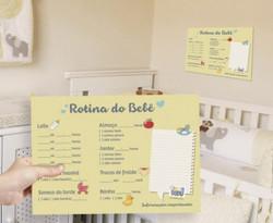 Planner rotina do bebê