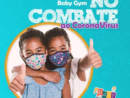 Posicionamento da rede Baby Gym em relação ao aumento de casos de Covid-19 no Brasil