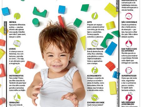 Novos espaços surgem com a proposta de oferecer estímulos às crianças a partir dos 2 meses de idade