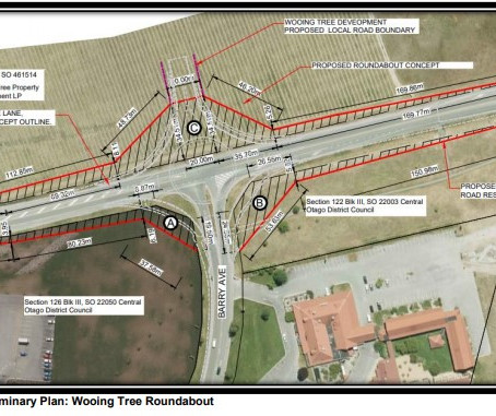 WOOING TREE ROUNDABOUT PLANS ANNOUNCED
