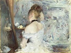 Berthe Morisot - A women at a toilet.jpg