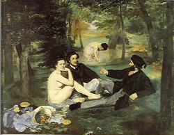 Manet - the luncheon on the grass
