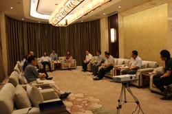 Mayor of Yibin City Ms. Li meeting with Israeli delegation