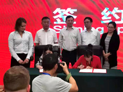 Signing ceremony for Joint Adventure
