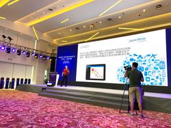 Israeli delegation presenting in roadshow, Jiangsu Province