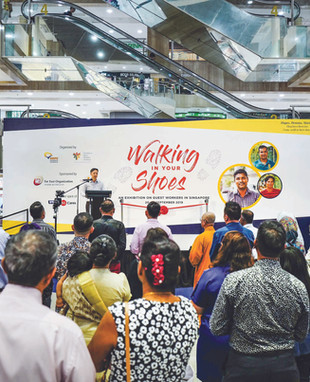 20-29 Sep 2019 | Walking in Your Shoes Exhibition