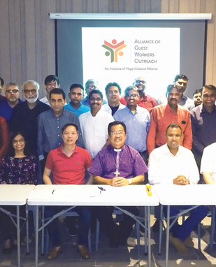 22-31 May 2019 | Inauguration of the Alliance of Guest Workers Outreach