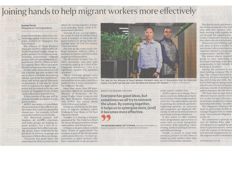 Joining hands to help migrant workers more effectively