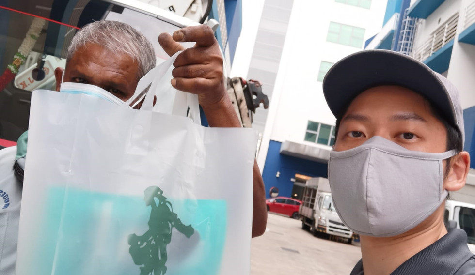 1842020 Mask Distribution by volunteers-