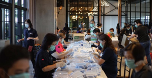 Hope that the engineering alliance will distribute 5,000 gift packages to 50 small groups