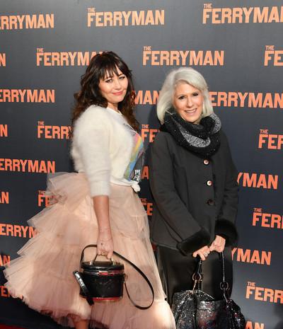 Frances+Ruffelle+Ferryman+Broadway+Openi