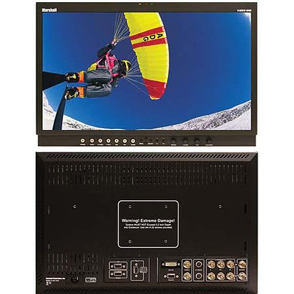 "Marshall VR201PAFHD 20"" Widescreen High Definition LCD Monitor with Advanced Features"