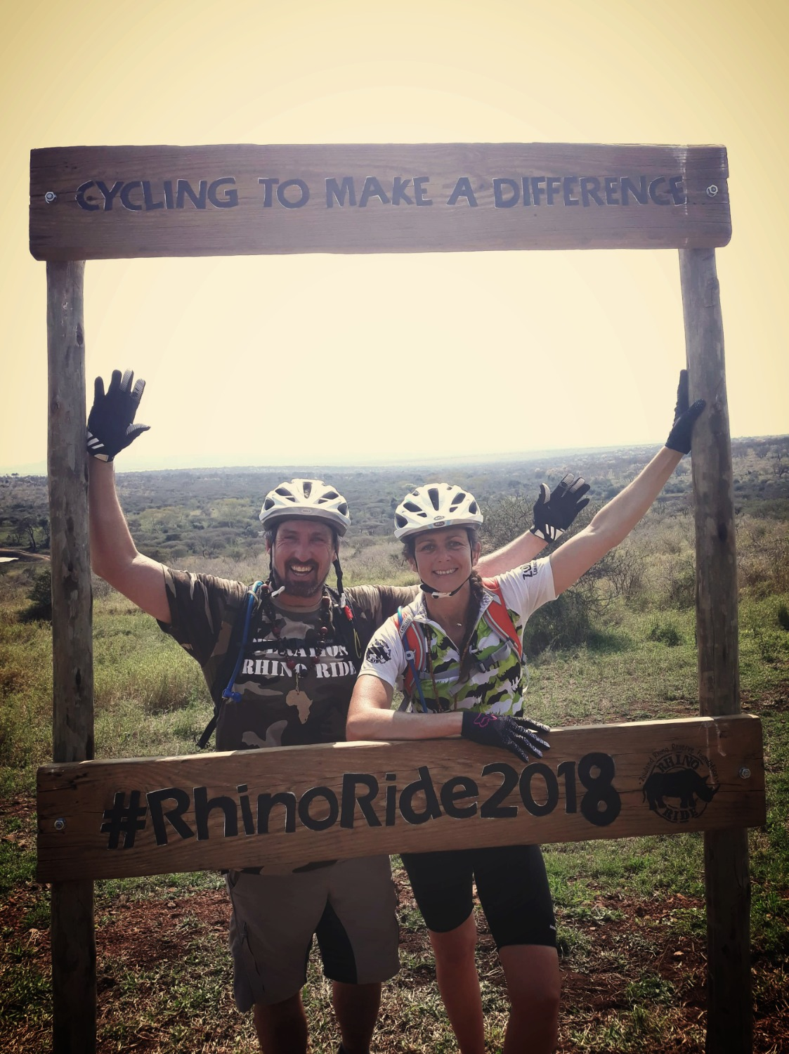 the 'Flying Kiwis' Rhino Ride 2018