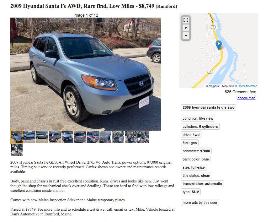 2009 Hyundai Santa fe 97K web.jpg