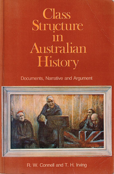 Class Structur in Ausralian History (book cover)