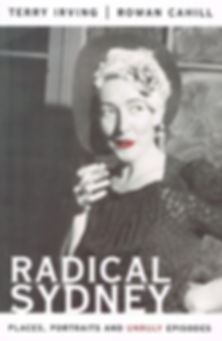 RADICAL SYDNEY (book cover)