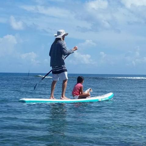 Private family beach sports