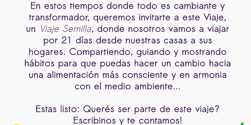 Viaje Semilla