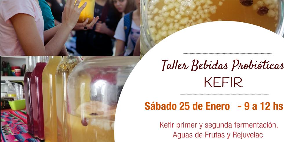 Taller Bebidas Probióticas: Kefir