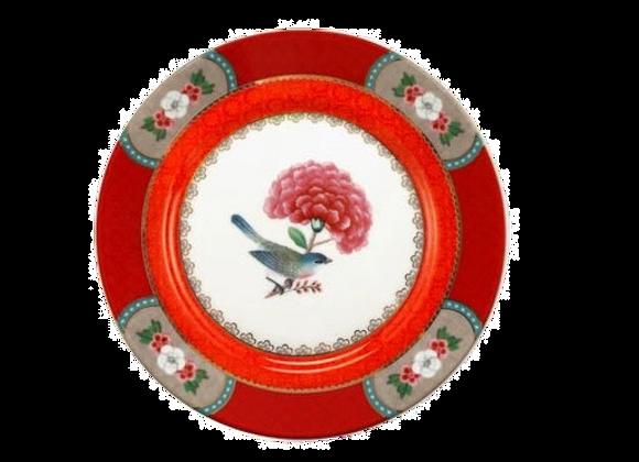 BLUSHING BIRDS KIRMIZI TABAK 17 CM