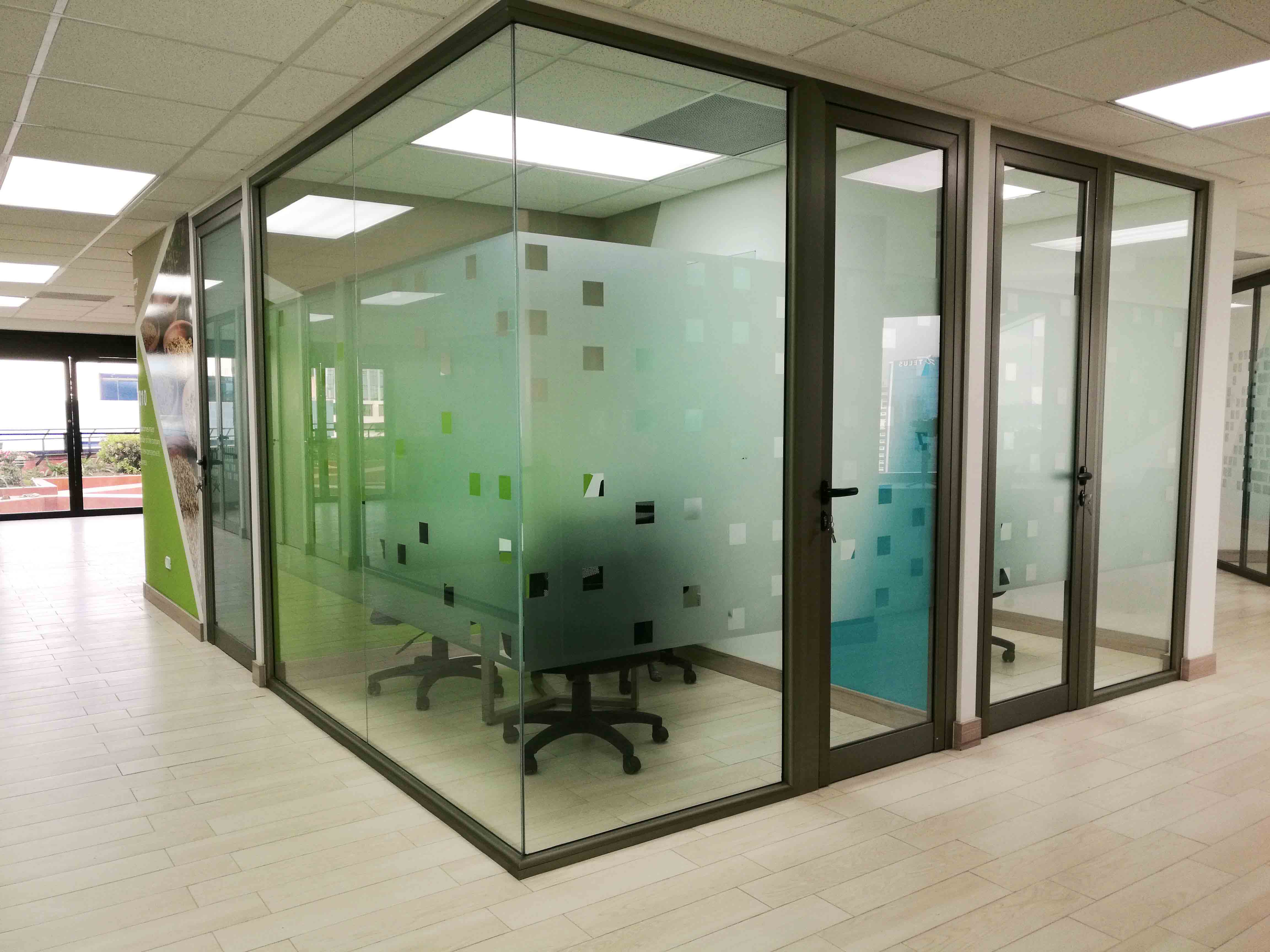 Vidrio oficinas