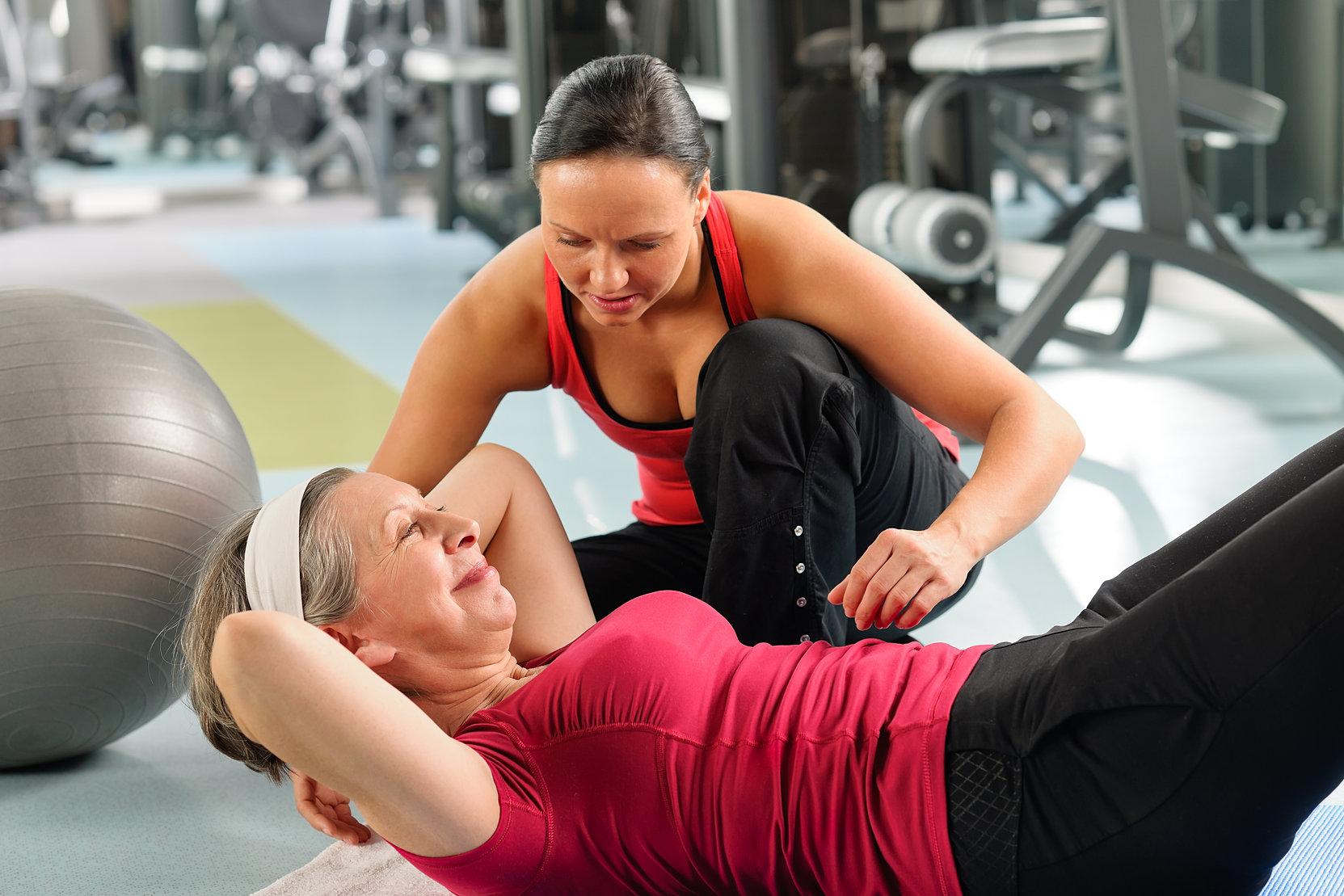 Тренерша по фитнесу картинки