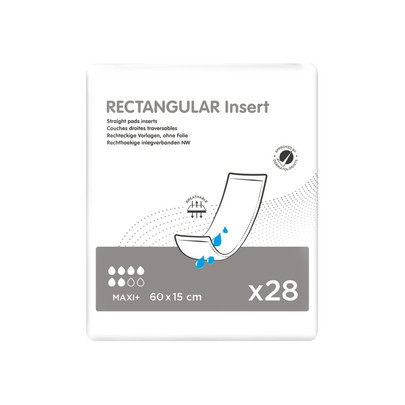 Rectangular Insert straight pads