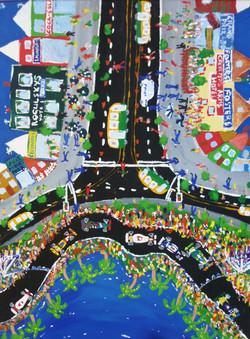 Melbourne Grand Prix by Wayne Elliott