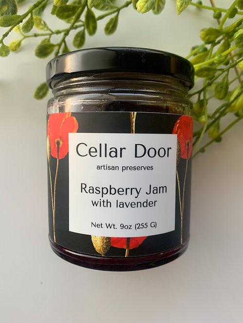 Preserves (9 oz), Raspberry Jam w/ Lavender
