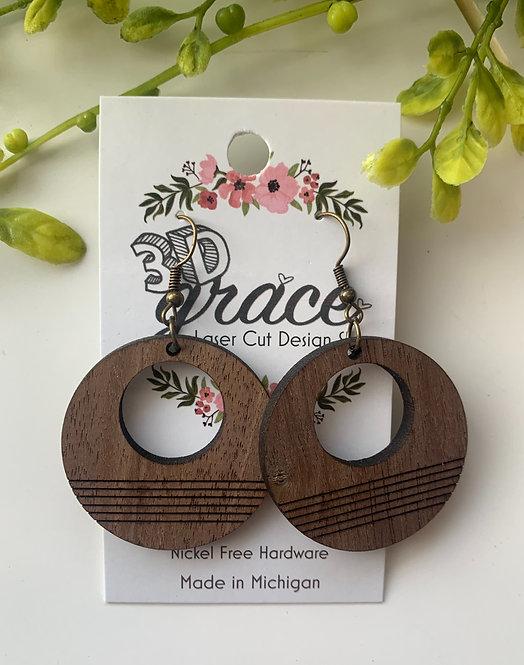 Park Circle Earrings
