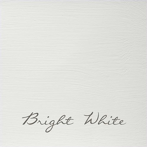 Bright White, Vintage Finish