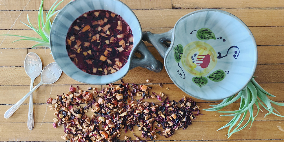 Immune-Boosting Tea & Elderberry Spritzer