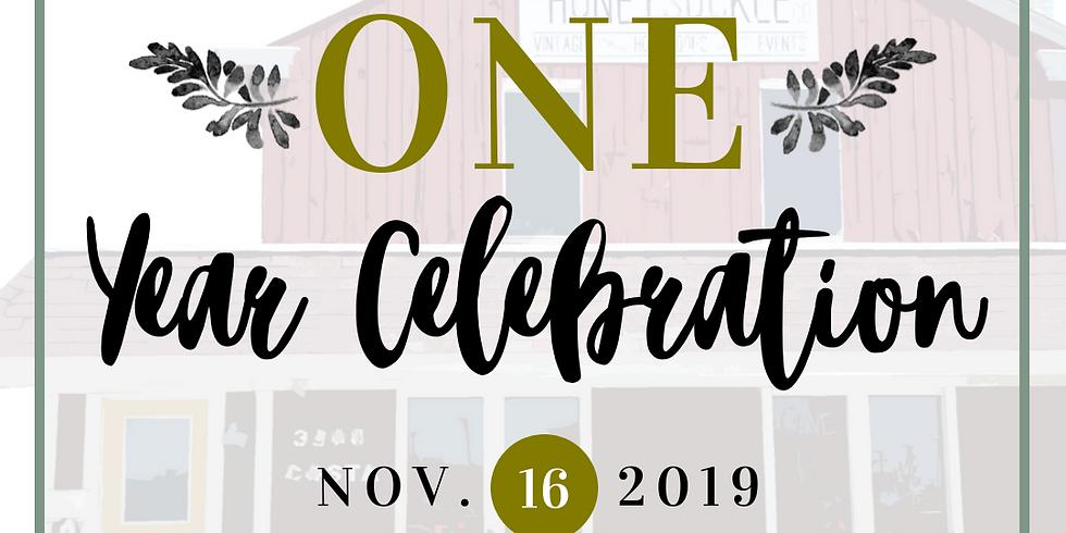 One Year Celebration!