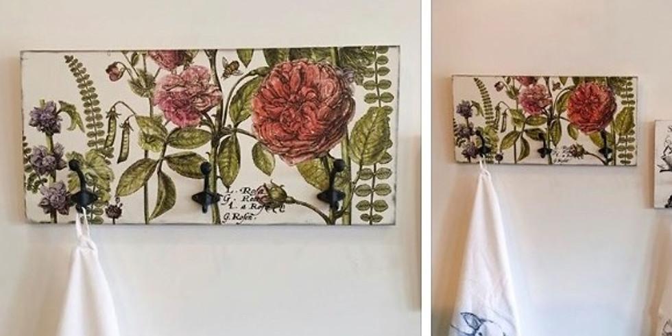 Coat/Towel Rack   Iron Orchid Design